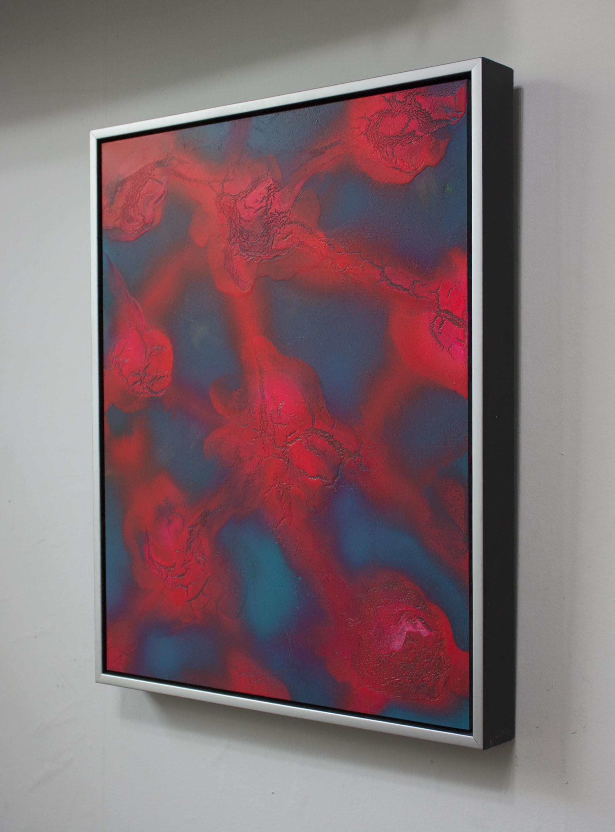 Photolysis I  2014 Oil & enamel on panel 16 x 20 in.
