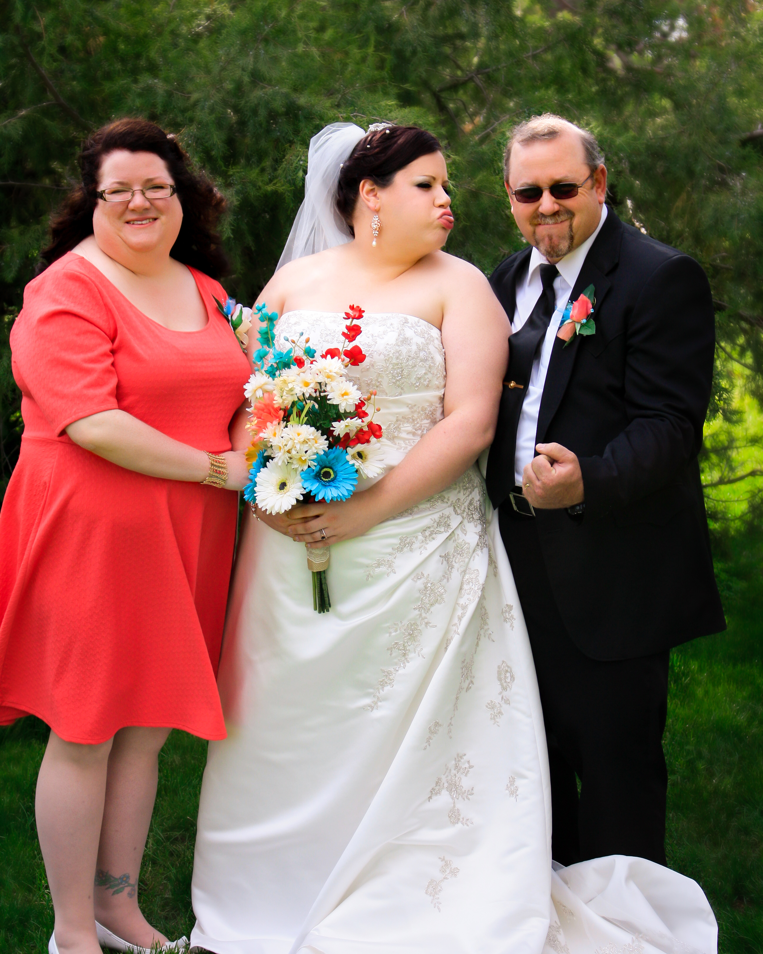 """Becca, Lorena, and Ed - Such a special """"moment"""""""