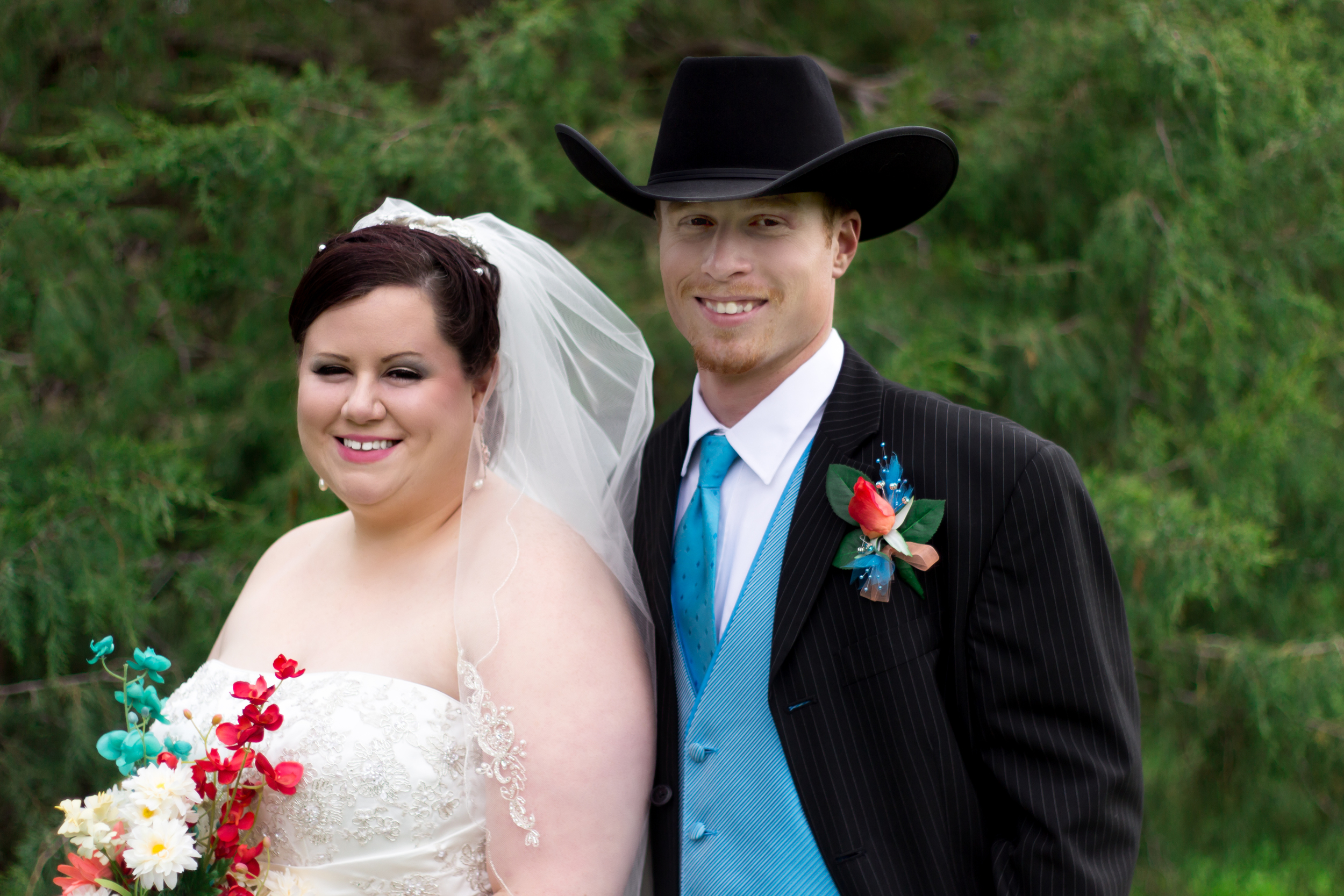 Mr. & Mrs. Kevin Wolfe - The Happy Couple
