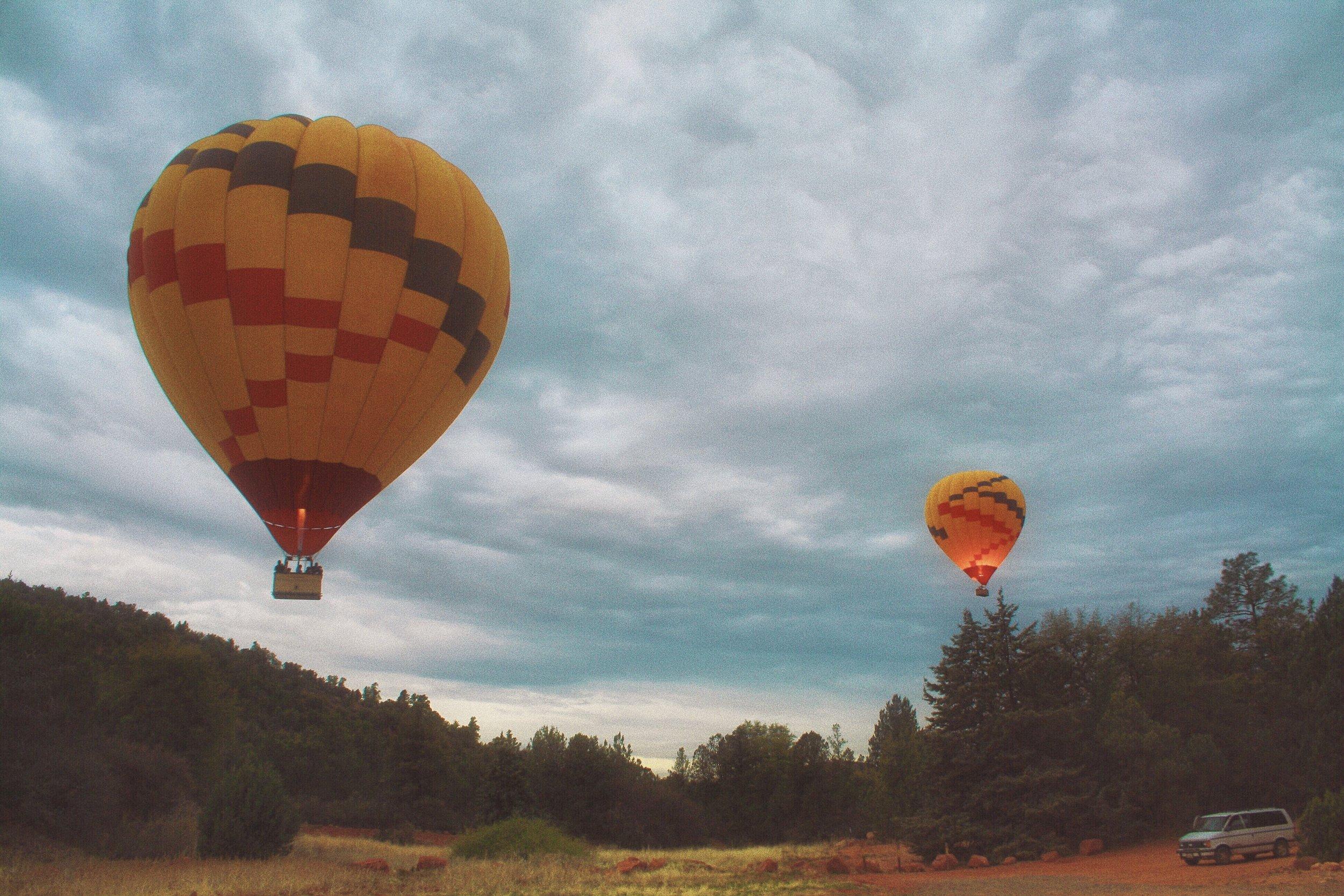 red rock balloon adventures arizona