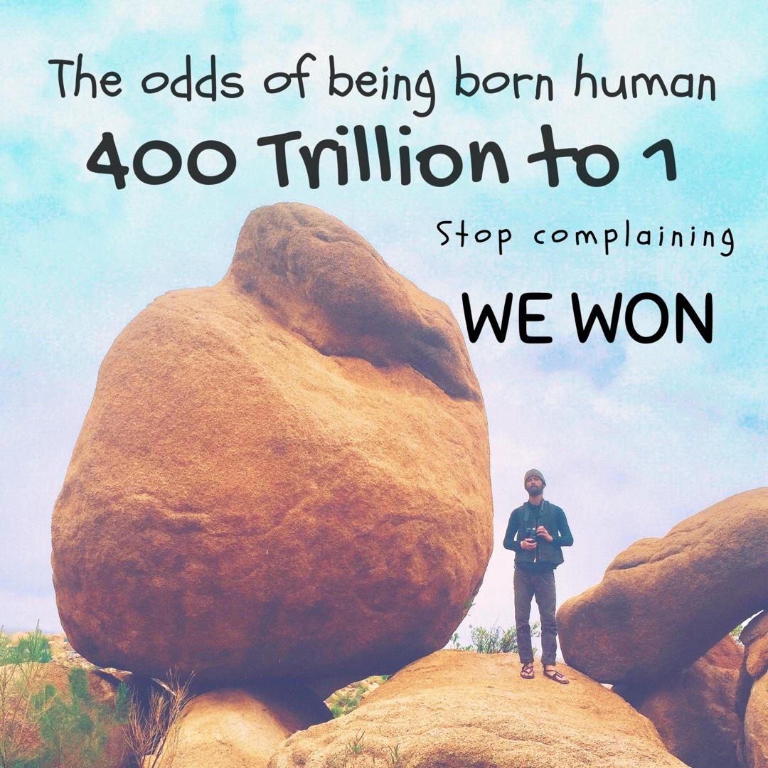 400 trillion to 1