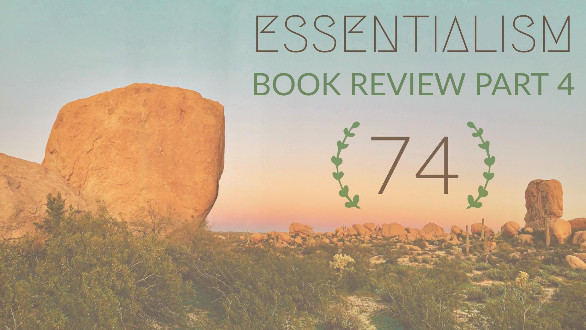 Essentialism Book Podcast