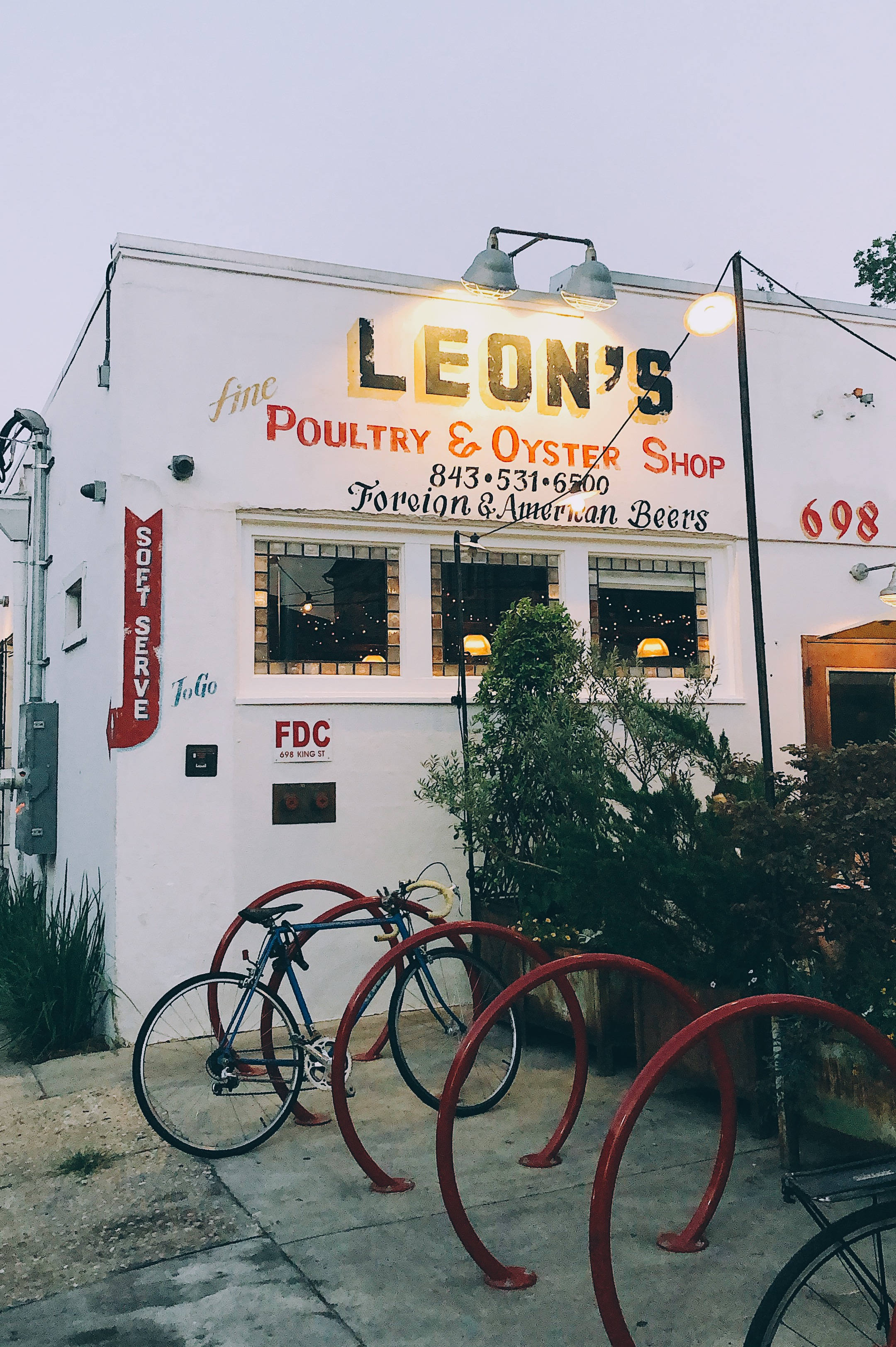 leon's oyster shop charleston south carolina