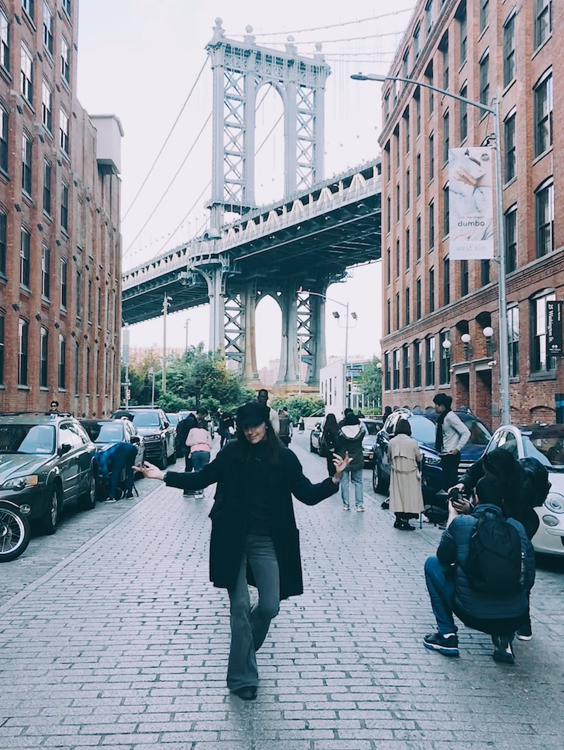 manhattan bridge brooklyn new york washington street water street