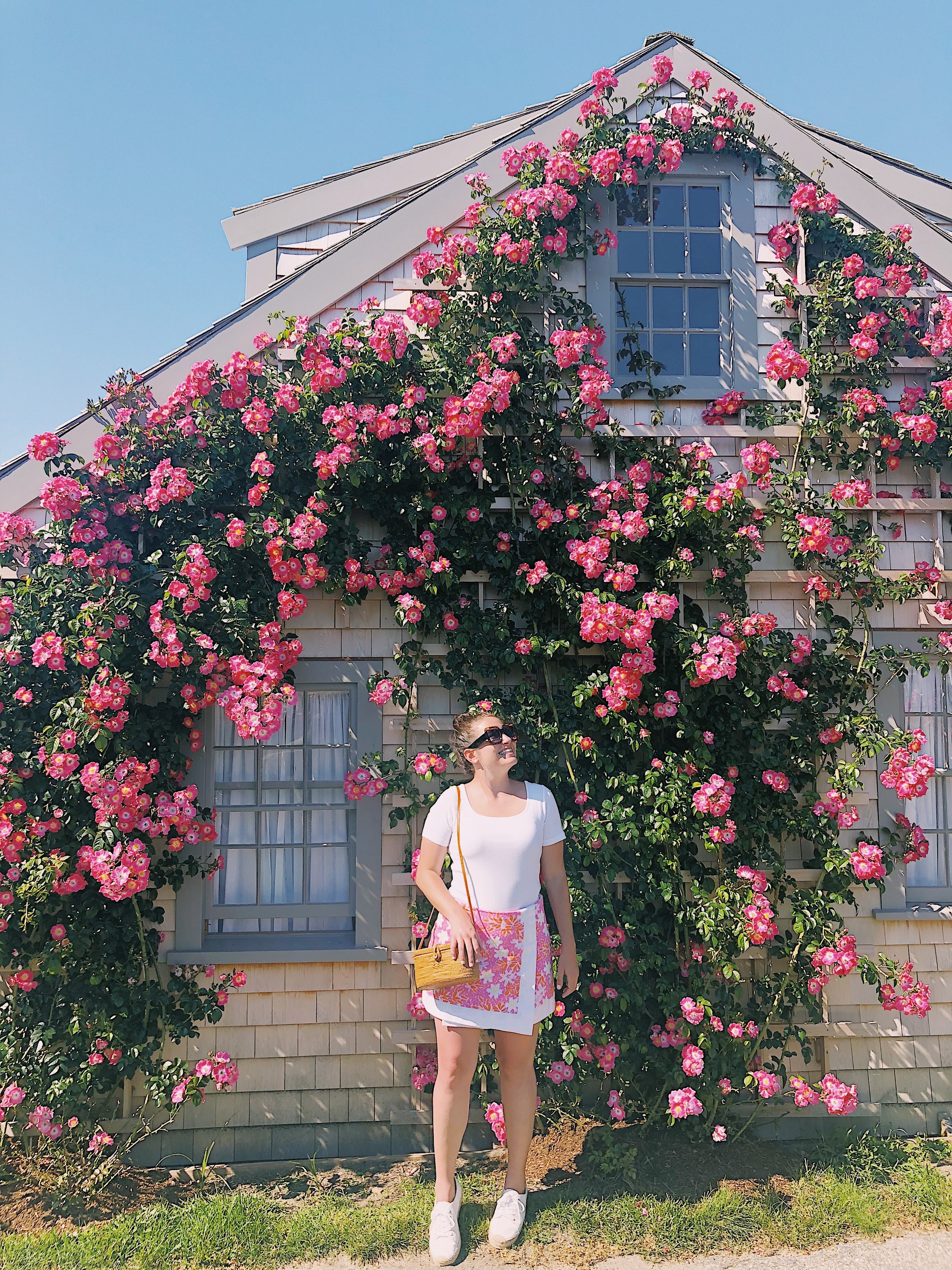 rose covered cottage sconset nantucket ma