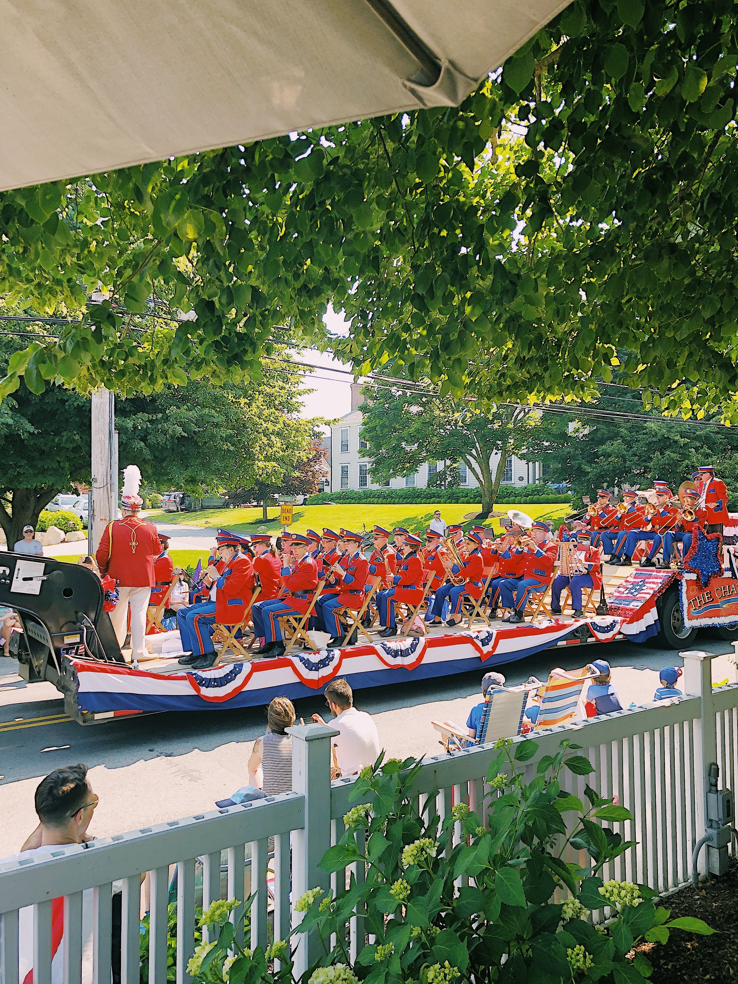fourth of july parade chatham cape cod ma