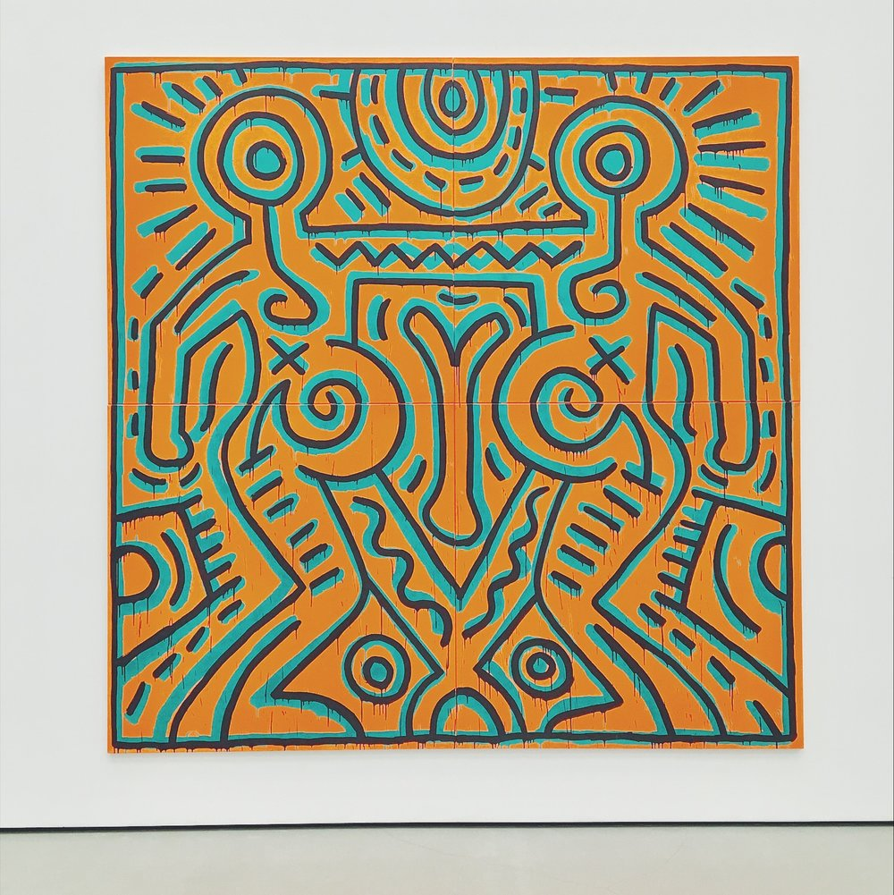 the broad museum keith haring los angeles ca