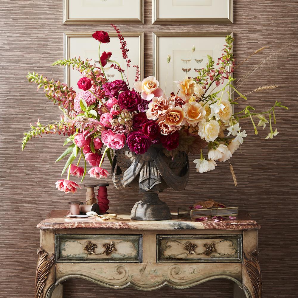 veranda magazine seasonal blooms