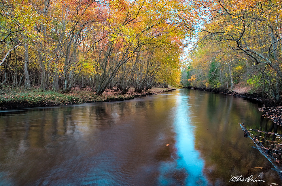 """Wading River Fall""  - (A,E,F)"