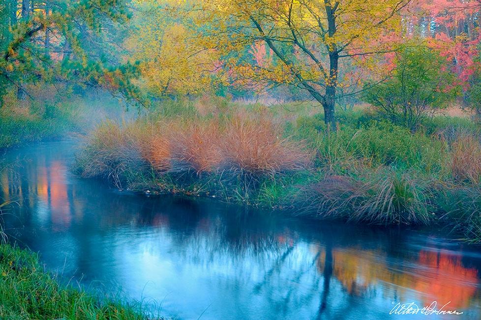 """""""Upper Batsto River""""  - (A,E,F)"""
