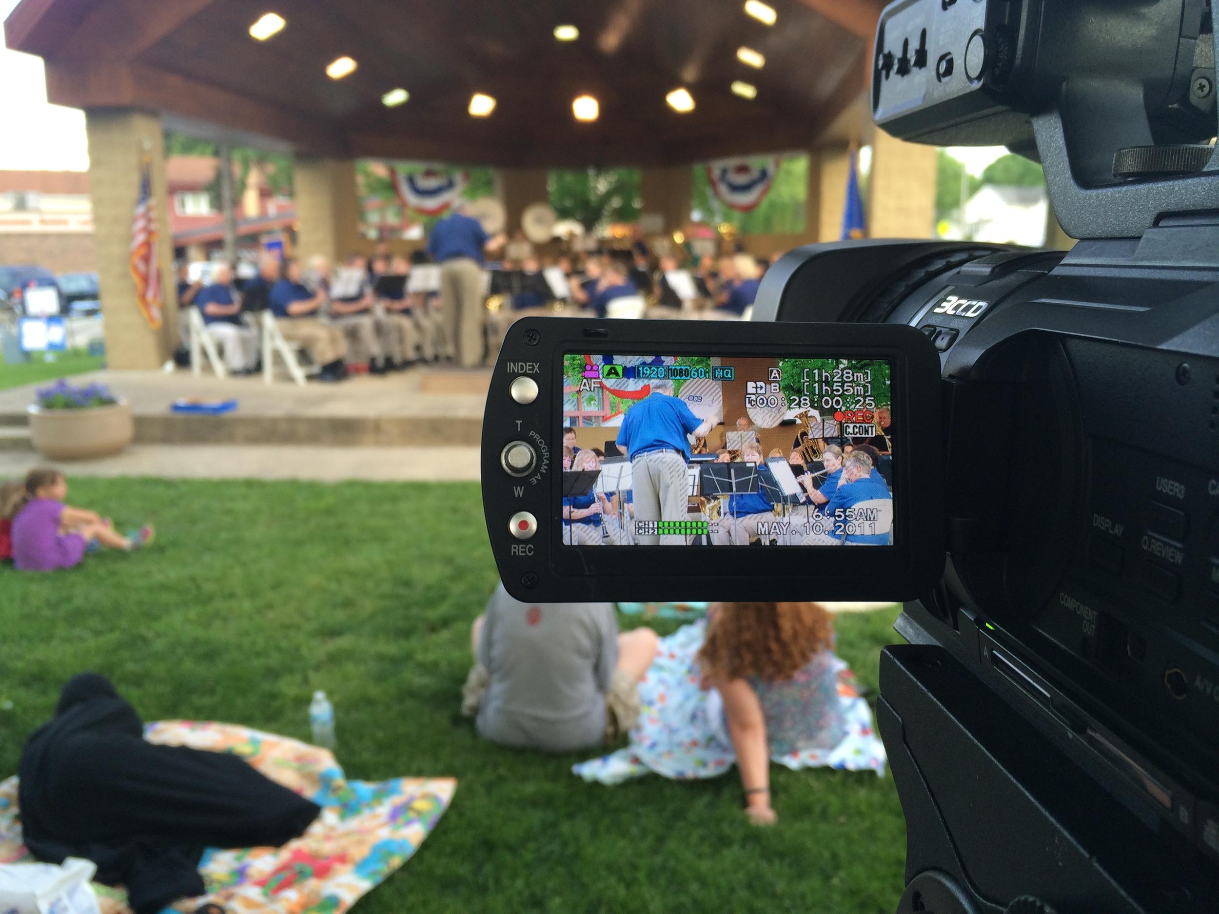 OCA Media working a community event.