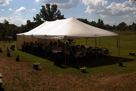 20x40 Pole Tent $375.00