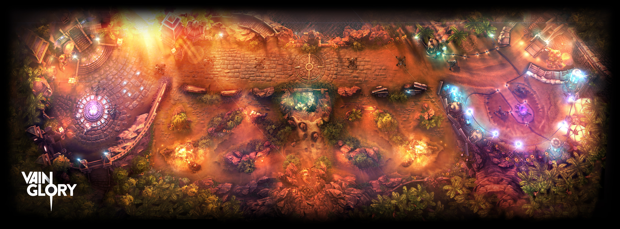 The Halcyon Fold Summer Map