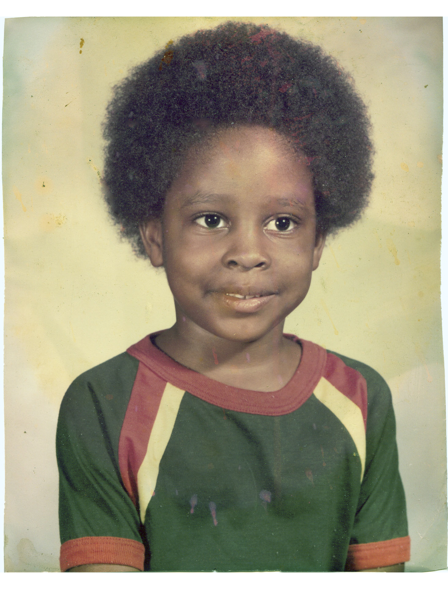 #throwback Tarrice at 5 years old. Precious.