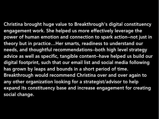 Breakthrough - Phoebe Schreiner