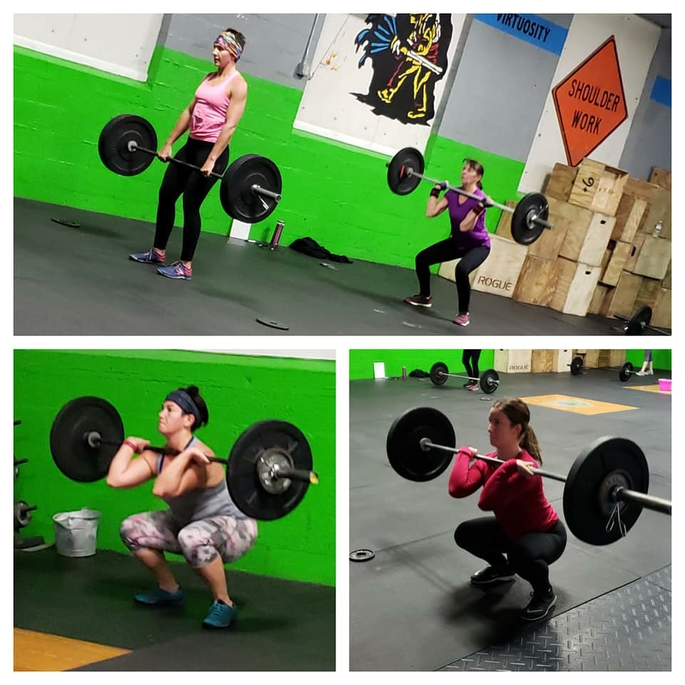 Class Times 4:30/5:15/8:30 & 4:00/6:00/7:00  Skill: Handstand Walk Progression + Strict Pull up    Mod: Bench Press     Wod  21-18-15-12-9 Cal Bike  In between Cal's on bike complete  12 DB Snatch 35/50  9 Burpees  3 Muscle Ups