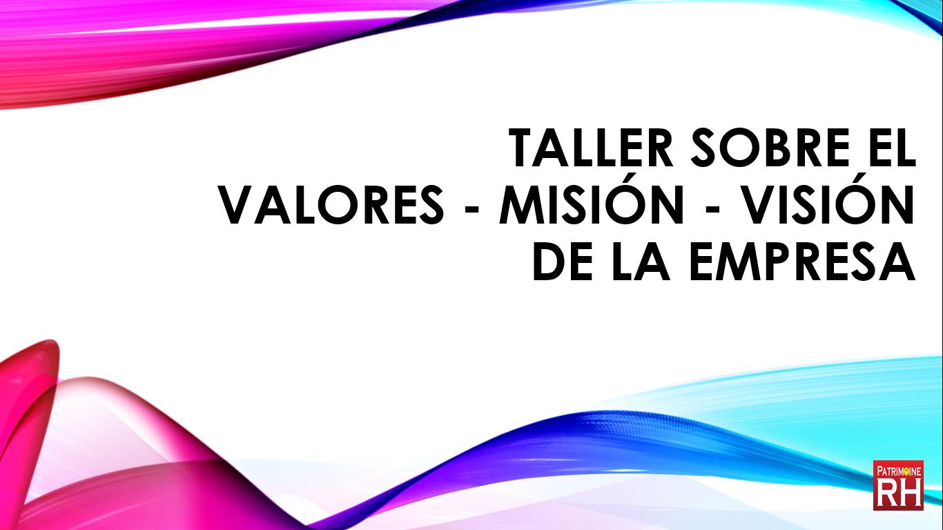 formation sur les valeurs en espagnol patrimoine-rh