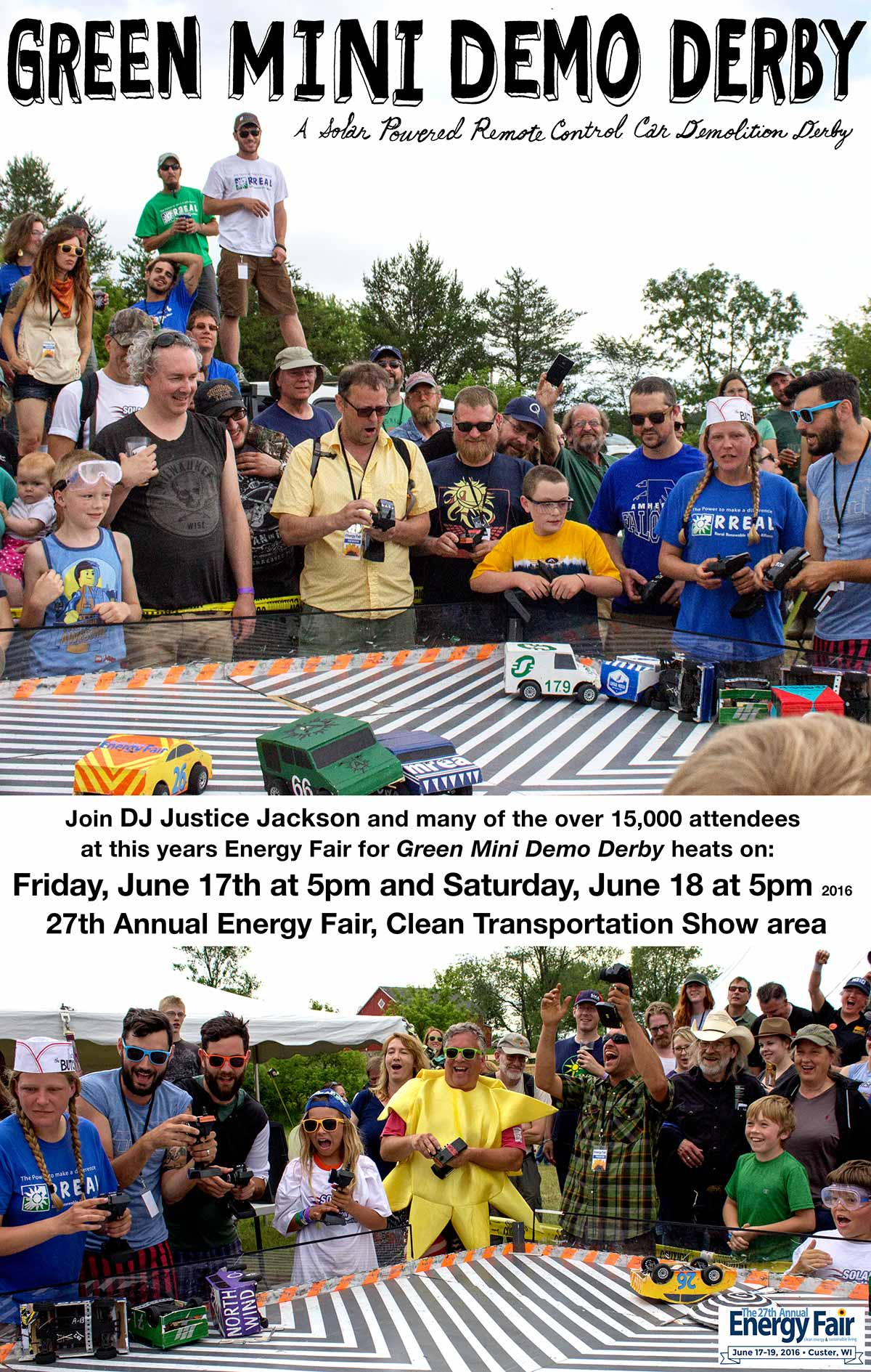 Join us for the largest derby yet, 17 race teams and counting!