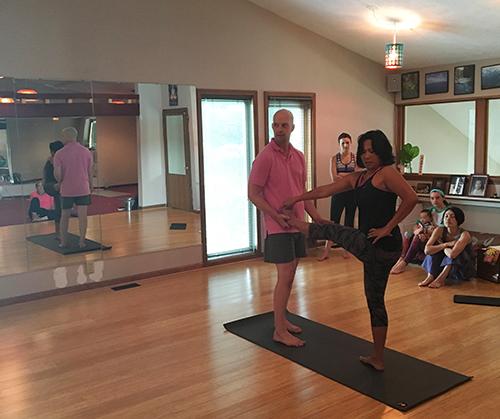 Yoga Lab - Revolved Hand to Toe