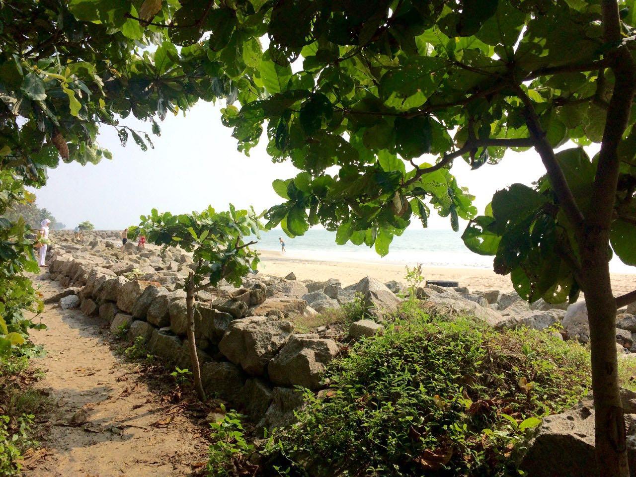 amritapuri beach, south india