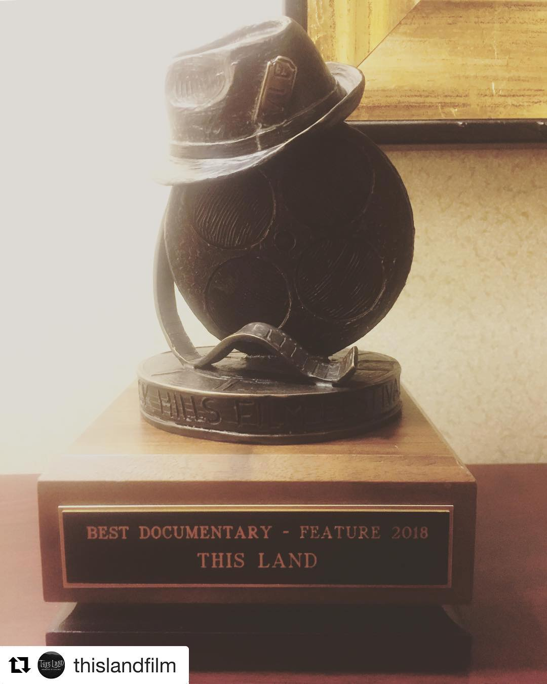 This Land Black Hills Award