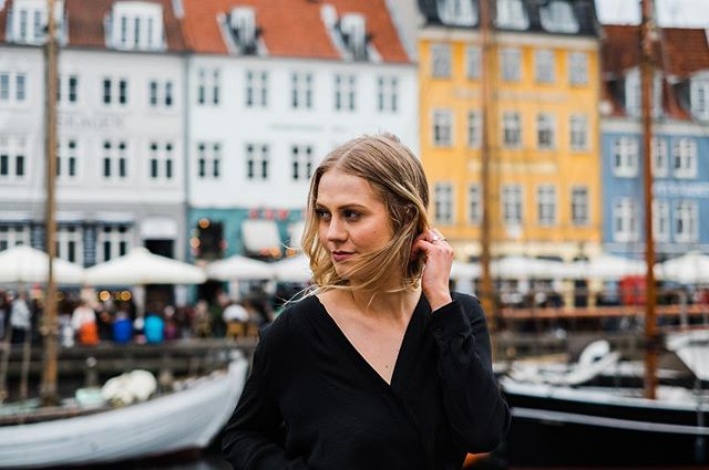 Naja // Copenhagen  Yes, we shot on the busiest + touristy street of Copenhagen. Yes, I would do it again in a heartbeat.  #visitcopenhagen #copenhagen #kobenhavn #nyhavn #denmark🇩🇰