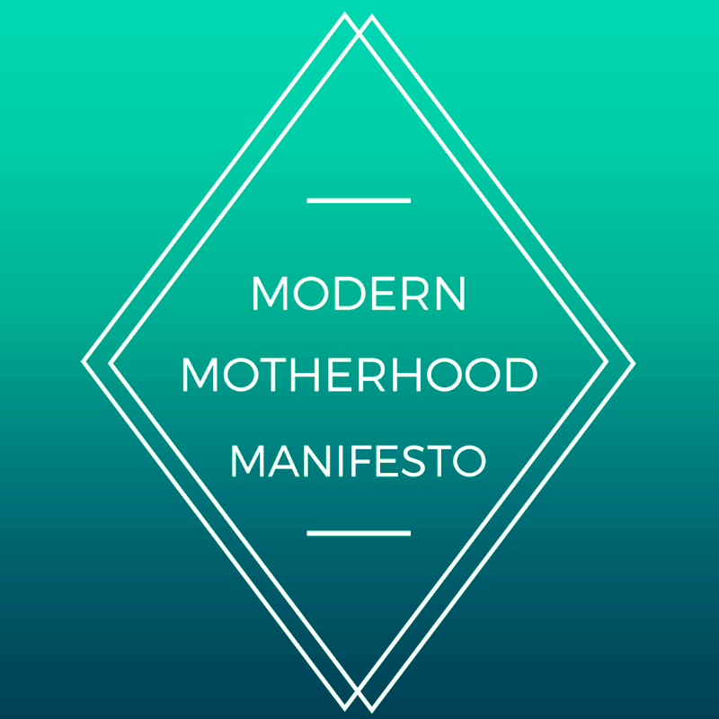 motherhood manifesto new mom real moms