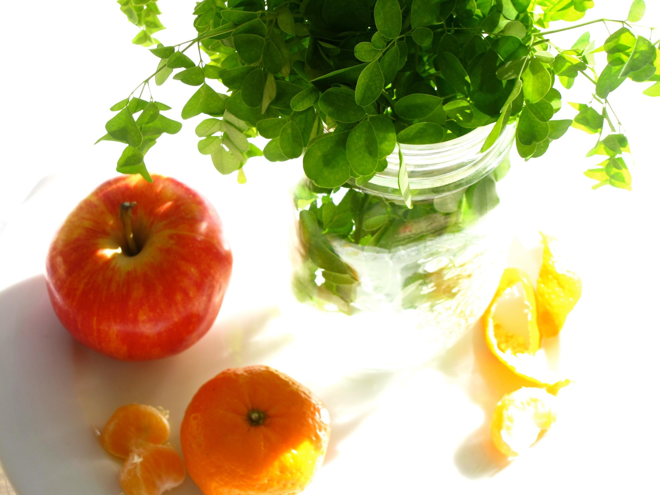 moringan apples orange