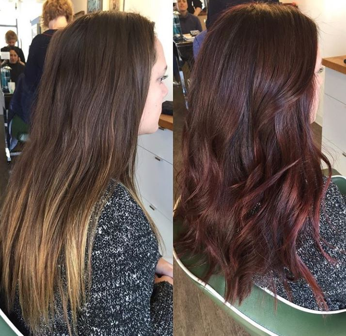 Hair Coloring at Cut-Splice in Boston