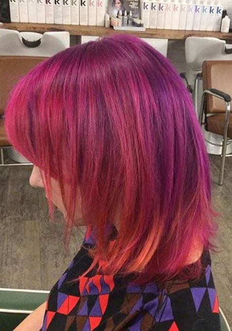 Cut Splice Hair Salon Red Color