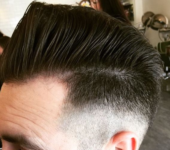 Cut-Splice Hair Salon Mens Cut 3