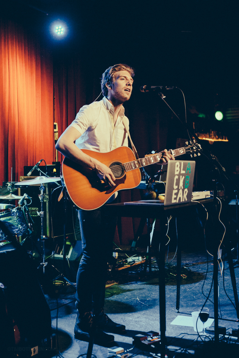 Andrew Belle performing at Off Broadway in St. Louis on May 15, 2013. On tour for his new album Black Bear.