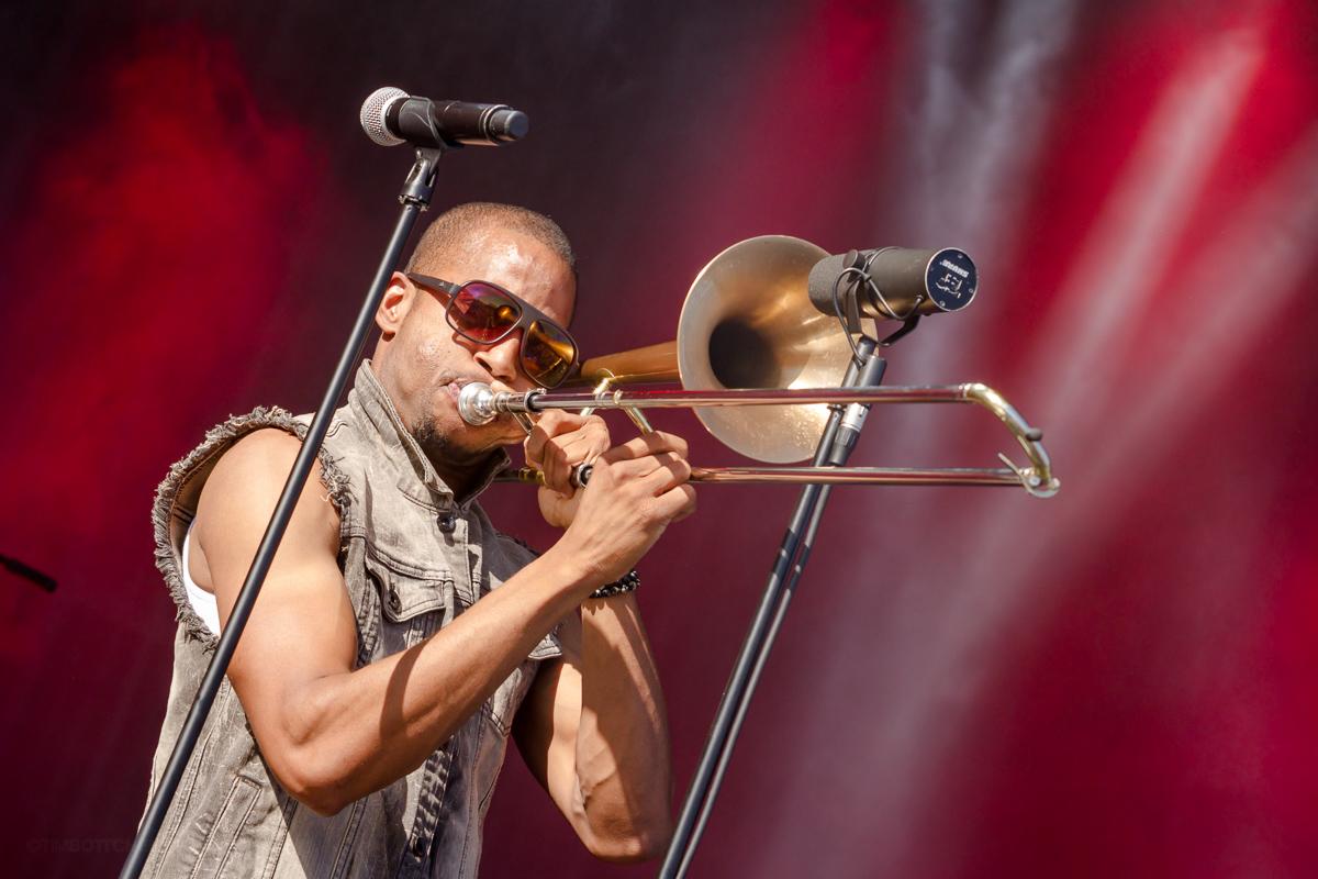 Trombone Shorty & Orleans Avenue at LouFest