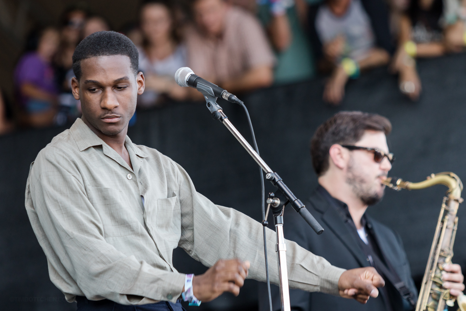 Leon Bridges at Austin City Limits