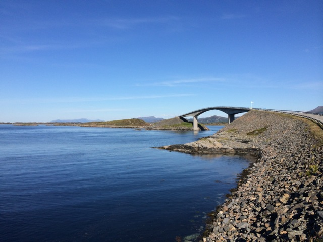 A land of archipelago, the Norwegians are incredibly good bridge builders.