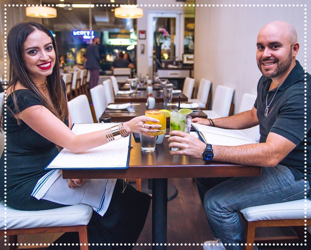 "Ylette & Eddy -  Social influencers - Joined us for dinner on March 29th, 2017. They could not get enough of our Mojitos!  We loved having them in here and can't wait for them to come back for a Mojito edition of their ""Best 5 in the 305"" segments! - - - IG: @Ylette_  @Eddyl10"