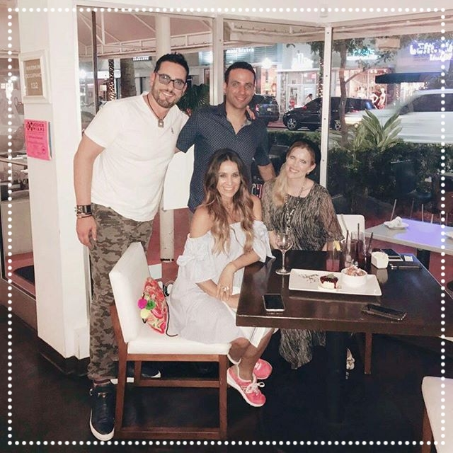 Miguel Varoni, Catherine Siachoque Varoni and Maritza Rodriguez - Actors, Models and Producers - This fun group stopped by 26 Sushi & Tapas on April 2nd, 2017 to see what the buzz was all about, and they did not leave disappointed! As much as they enjoyed our drinks and food, we enjoyed their company! Daniel Friedman was lucky enough to snap a picture with them! - IG: @soyvaroni  @catherinesiachoque  @maritzarodriguez