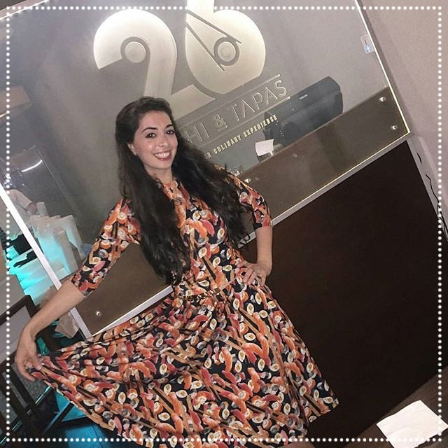 FlatbushGirl - Comedian, Influencer - This Kosher foodie is a riot! Just look at that Sushi Dress she is wearing! We were so delighted with her visit on February 7th, 2017, we cannot wait for the next one! She is truly a joy to be around! IG: @Flatbushgirl_