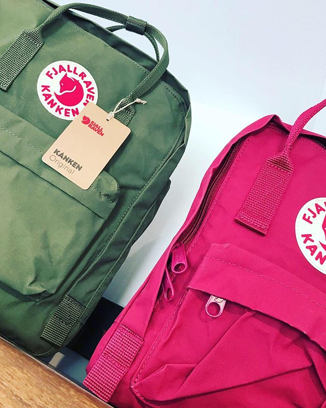 Get on the move,  Fjäll Räven #kanken 🎒 Pack just the right amount and explore our beautiful island 🌴  @islandactivewearpei  i2... i2... The Next Chapter  i2... The Evolution  i2... Our New Look #charlottetown #pei #discovercharlottetown #discoverpei  #ladiesfashion #mensfashion #summerclearance  Mon Tues Wed Thur Sat  10 to 5:30 Fri 10 to 8