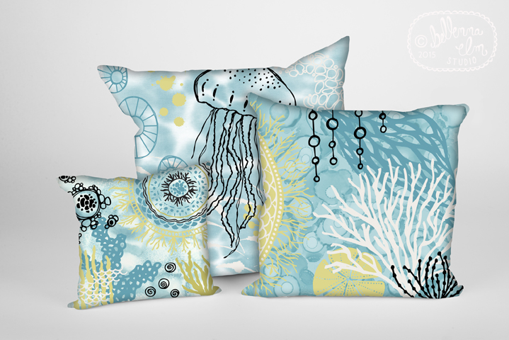 Belinda Sigstad - Aquatic Treasures - Pillows.jpg