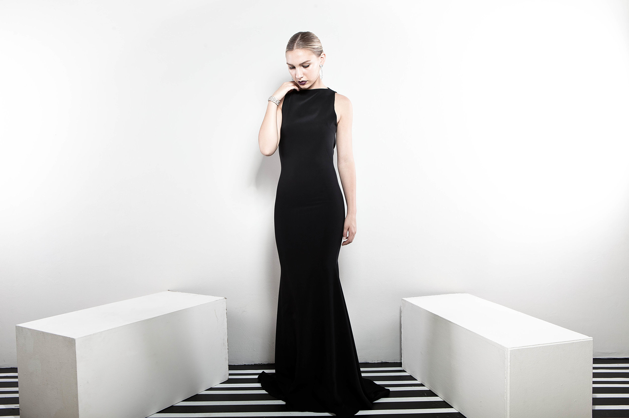 Black Lotus Gown - The gown for every formal occasion.