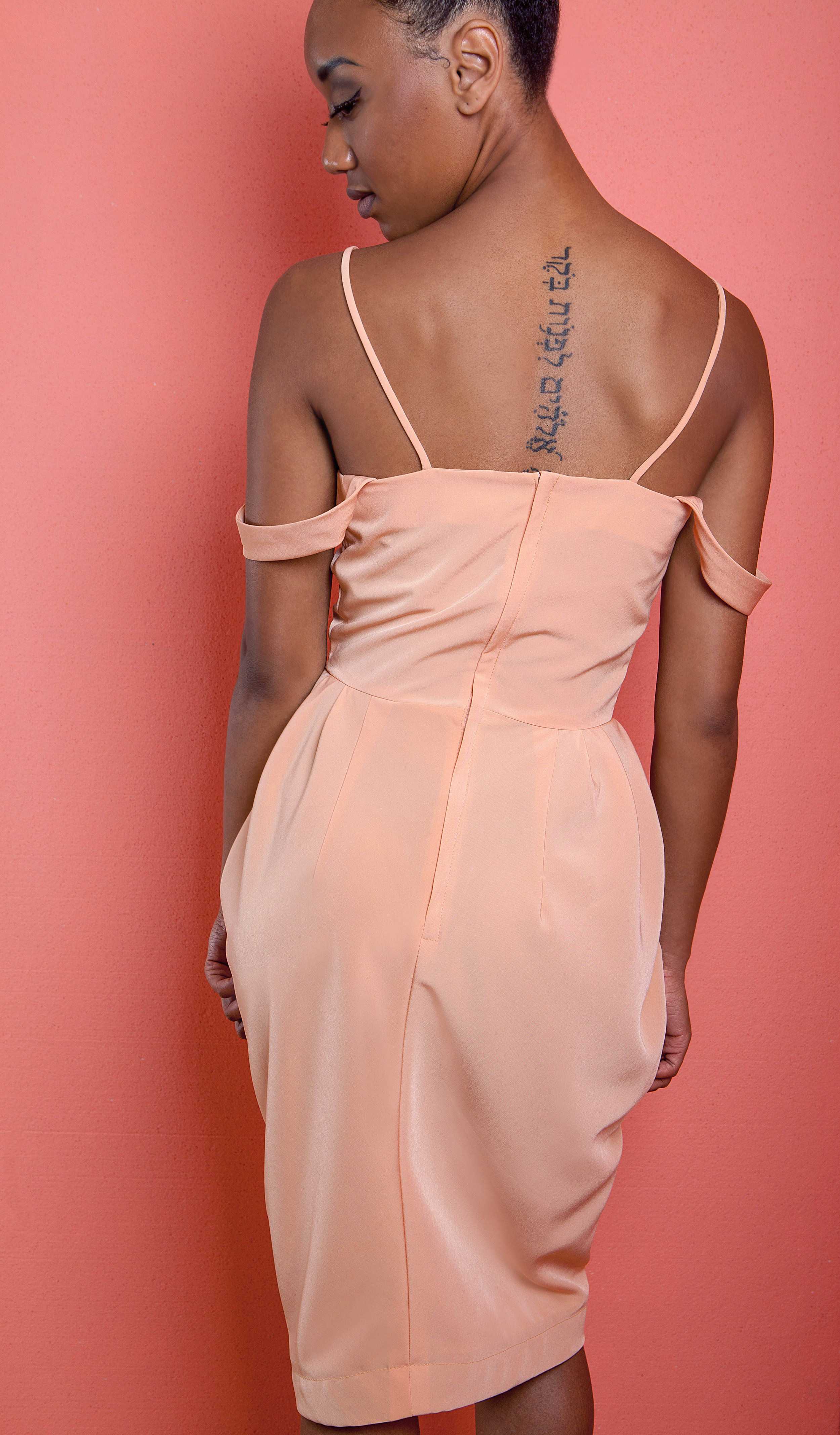 Pretty in Peach - Perfect for a night out...