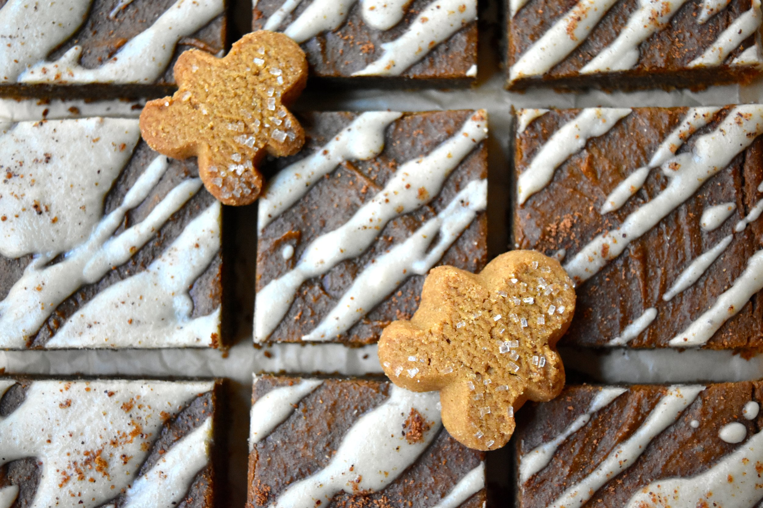 Gingerbread Chickpea Bars 3