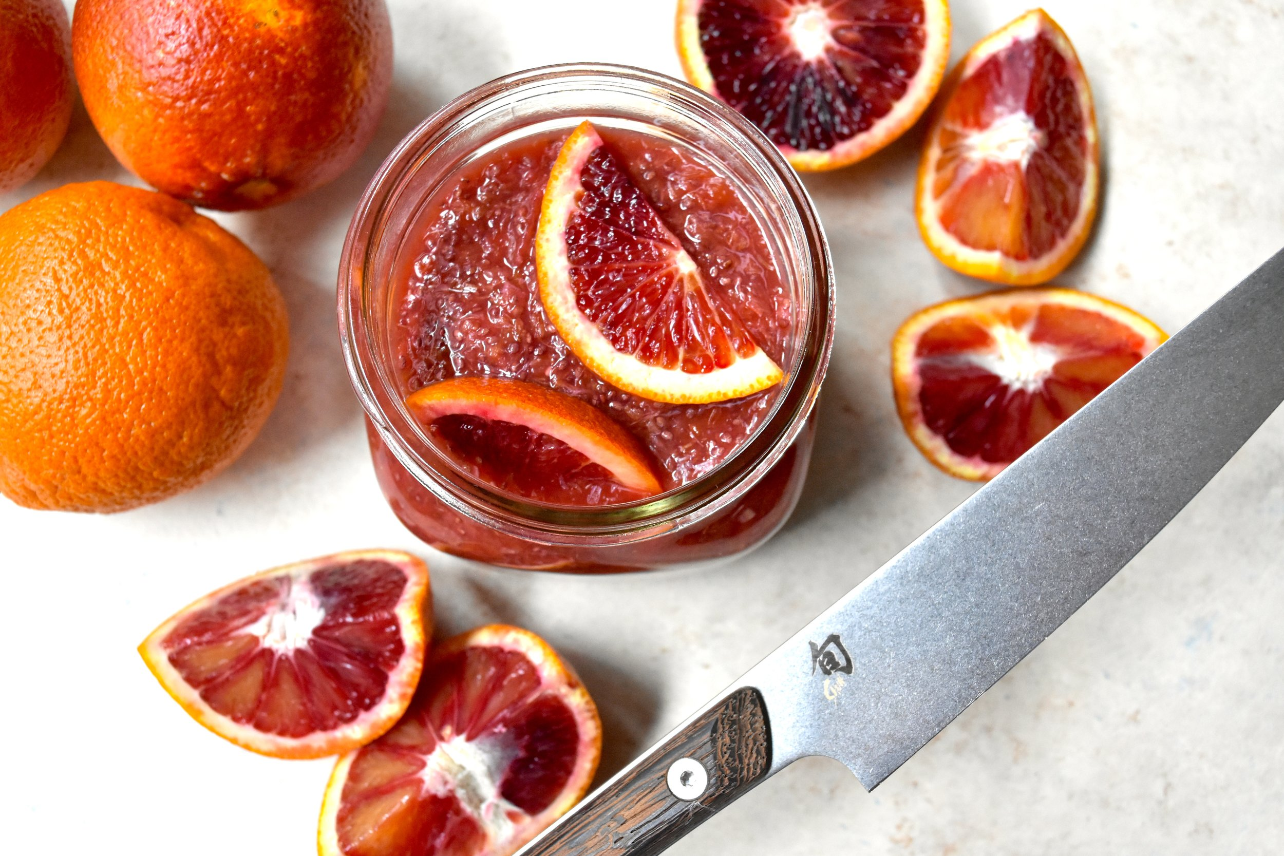Blood Orange Chia Jam 2