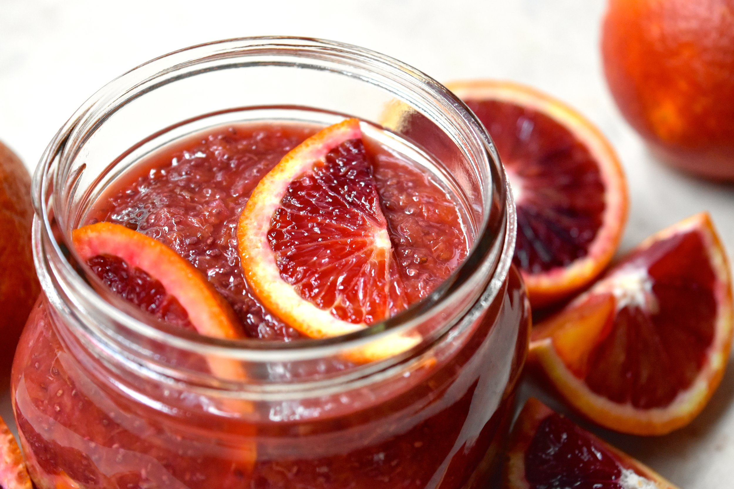 Blood Orange Chia Jam 3