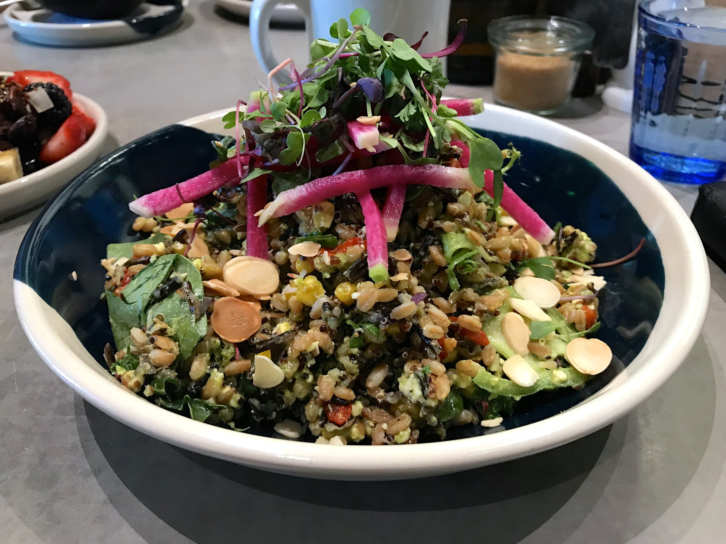 This is the Superfood Grain Salad from Five5eeds.