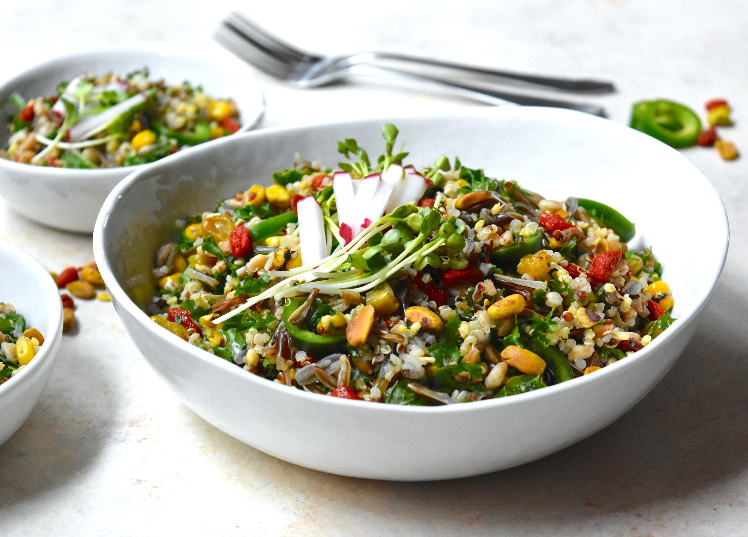 Superfood Grain Salad 1