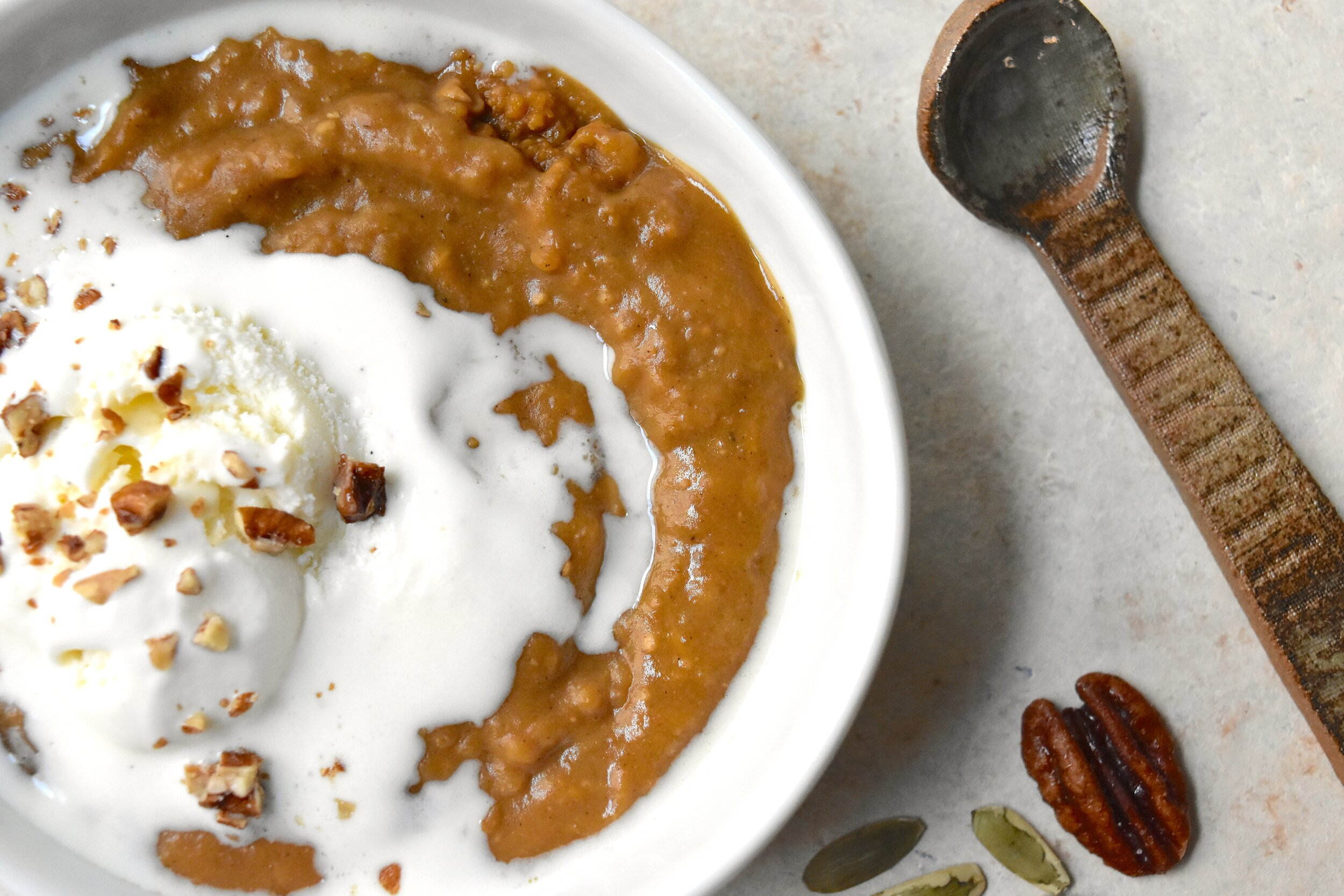 Butternut Squash Indian Pudding 5