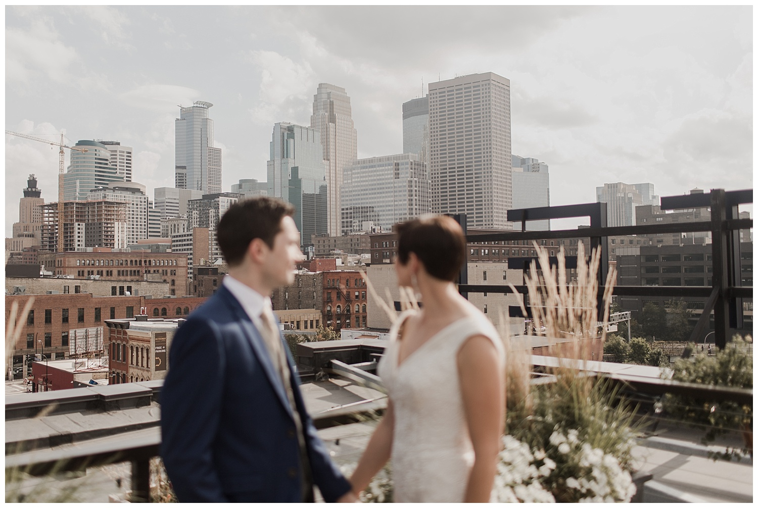 Hewing Hotel Downtown Minneapolis Wedding