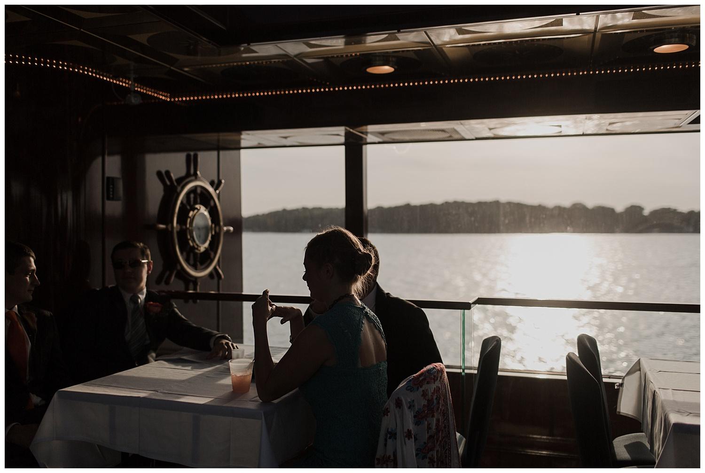 Minnetonka Boat Cruise Wedding